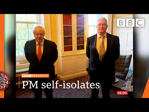 Covid: Boris Johnson self-isolating as week of policy announcements begins 🔴 @BBC News live – BBC