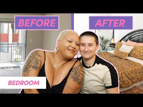 Our Extreme Bedroom Makeover • Moving In Together
