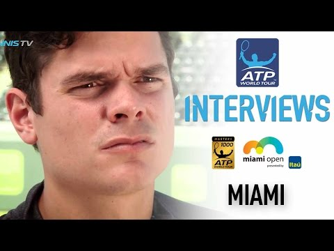 Rejuvenated Raonic Relieved By Miami 2017 Return