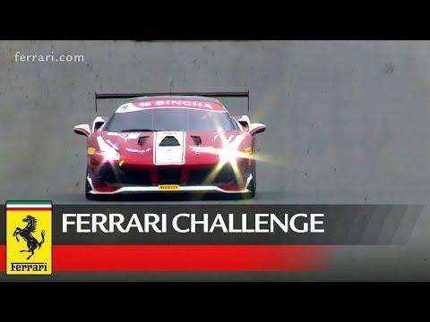 Ferrari Challenge Europe - Barcelona 2018, Trofeo Pirelli Race 1