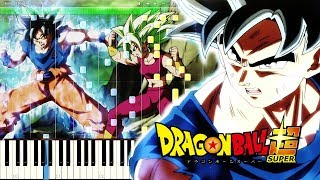 Dragon Ball Super OST - Ultimate Battle | Piano Tutorial