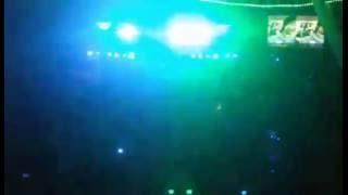 Dj Nick Velazco en pleno show junto a la miniteca MaXimus