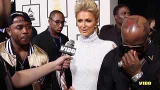 On The Mic | Paris Hilton, Birdman and Mack Maine At 2014 Grammy Awards