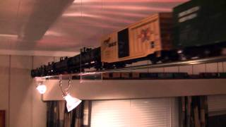 The longest train in the living room