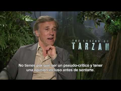 La Leyenda de Tarz�n - Entrevista a Christoph Waltz HD