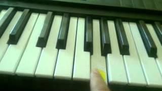 tuto de crazy frog - axel f piano