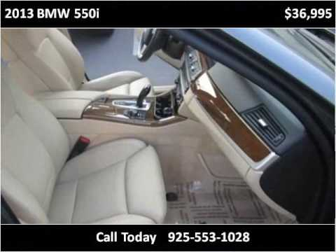 2013 BMW 550i Used Cars San Ramon CA