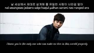 [HD] G.O (MBLAQ) - For You (너를 위해) [English+Romanization+Hangul]