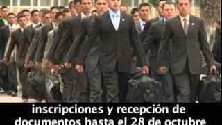 EJÉRCITO ECUATORIANO LLAMAMIENTO PARA OFICIALES ESPECIALISTAS ESMIL 2012