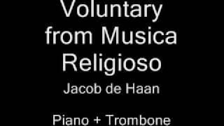 Voluntary - from Musica Religioso (J. de Haan)