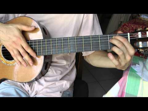Comment jouer La foule d'Edith Piaf à la guitare