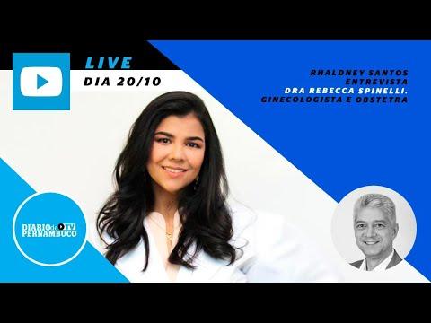 Rhaldney Santos entrevista Dra. Rebecca Spinelli