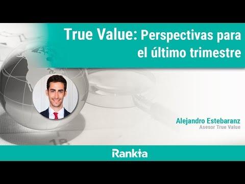 En el próximo webinar Alejandro Estebaranz, asesor del fondo True Value, hará un repaso de las perspectivas para el último trimestre y comentará las principales novedades en las carteras. Además, en el turno de preguntas responderá a todas las dudas de los asistentes.