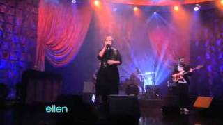 Adele's Rolling in the Deep On The Ellen Show - Adele Rolling In The Deep HD Video