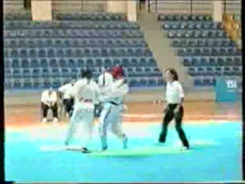 TAE KWON DO ZACHARIADIS I LOVE THIS GAME