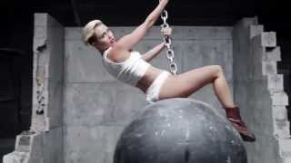 Musicless Musicvideo / Miley Cyrus - Wrecking Ball