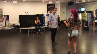 Parte 3 Ana Oliveira e Paulo Samurai workshop Kizomba 100%