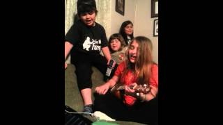Apples to the core cover by The Bozza kids