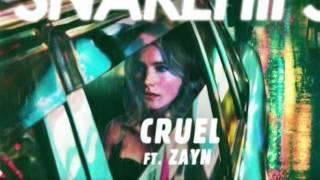 SNAKEHIPS - CRUEL ft. ZAYN (audio)