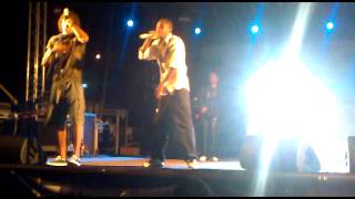 The Ghost Feat. James Tha Costa - Dentu Mi (Música) (Live) 2011