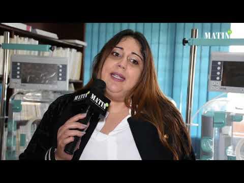 Video : Soror Biladi fait don au centre néonatal de Rabat