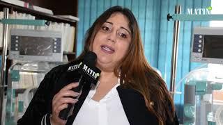 Soror Biladi fait don au centre néonatal de Rabat