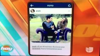 Anahi y Julion Álvarez Graban El Video Eres (HOY)