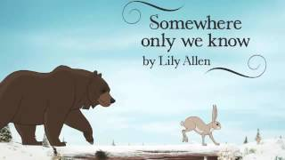 Lily Allen 'Somewhere Only We Know' Instrumental/Karaoke