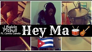 Pitbull & J Balvin // Hey Ma (feat. Camila Cabello) [Spanish Version] // Drum and Bass (COVER)