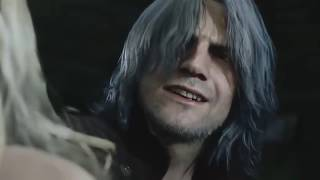 Devil May Cry 5 *SPOILERS* Dante Vs Cavaliere Angelo Boss Fight cutscene