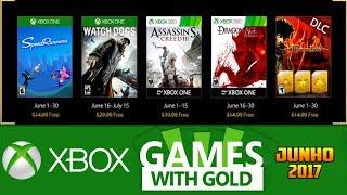 Jogos GRÁTIS Xbox LIVE GOLD de Junho 2017 (Xbox 360 / Xbox ONE)