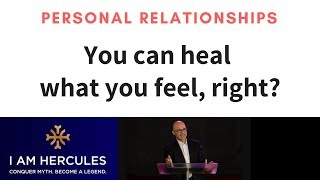 What you Feel you can Heal - NEW Insight - Dr Hercules Kollias