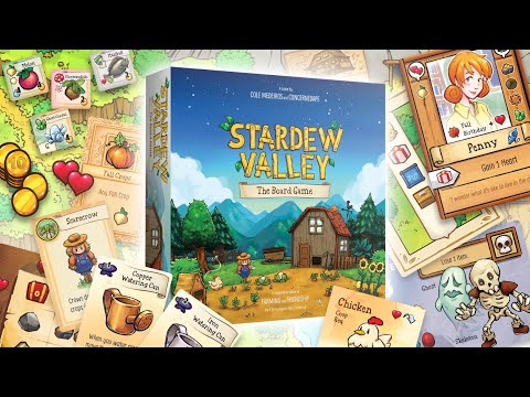 WTFF::: Stardew Valley: The Board Game is out now (but only in the US