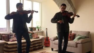 Hey Ma! Pitbull, J Balvin, Camila Cabello. (Violin Cover By Emilio Pelaez Ft. JP Elizalde)