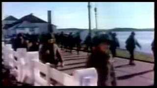 Homenaje de los alumnos del Dámaso Centeno a los Héroes de Malvinas