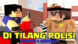 DITILANG POLISI..! ANIMASI 4 BROTHER | ANIMASI MINECRAFT INDONESIA