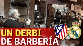 La guerra del derbi de Roncero y Manolete... ¡En una barbería!