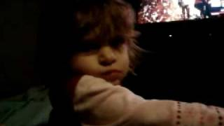 Funny Baby Accidentally Swearing.. HIT THE WHORE
