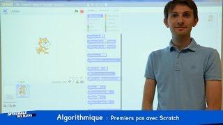 Algorithmique : Premiers pas avec Scratch