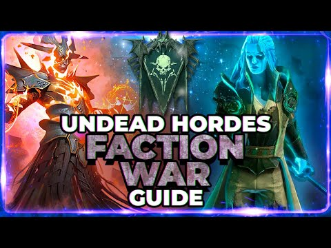 RAID Shadow Legends | UNDEAD | FULL Faction Guide | My FAV Faction!