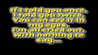 Last Night by Keyshia Cole ft  P Diddy Remix w Lyrics On Screen