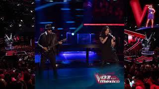 "Juan Carlos Cano Vs Mike ""Born To Be Wild"" #TeamPausini    La Voz México Las Batallas"