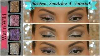 WET N WILD Color Icon Glitter Single - CUT CREASE + REVIEW + SWATCHES