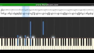 """""""The Truth Reigns"""" Roman Reigns Theme on Piano - Synthesia"""