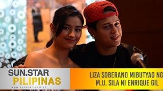 Liza Soberano mibutyag nga M.U. sila ni Enrique Gil