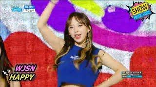 [HOT] WJSN - HAPPY, 우주소녀 - 해피 Show Music core 20170715