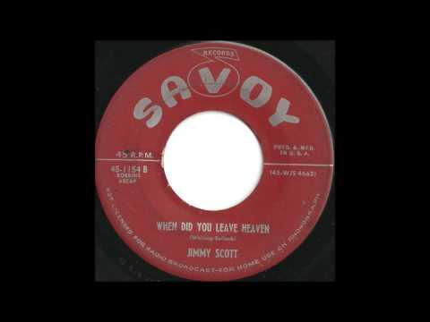 jimmy-scott-when-did-you-leave-heaven-tremendous-50s-jazz-rb-ballad-pjdoowop
