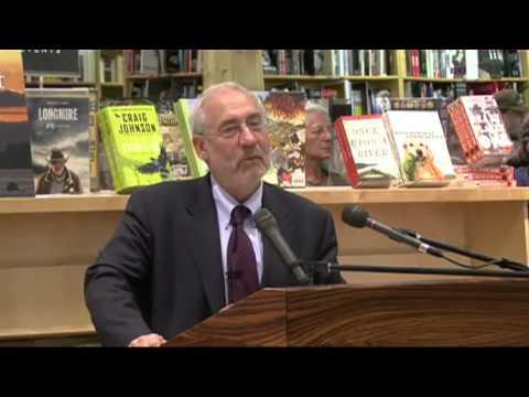 Joseph Stiglitz Video
