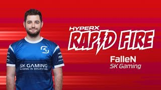SK Fallen Rapid Fire Questions