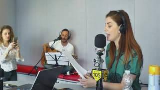"""Annalisa canta """"Amore disperato"""" di Nada a @Radio105"""